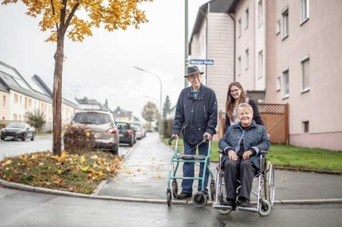 """Einzelprojekt """"Integriertes Gesamtkonzept für die Bereiche Senioren und Inklusion im Landkreis Hof"""""""
